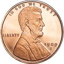 Lincoln Wheat Penny 1 Oz 999 Copper Round