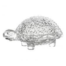<b>Доза Crystal BOHEMIA Черепаха</b>, 12 см — купить в интернет ...