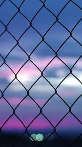 chain link fence wallpaper. Download Looking At Freedom Fence IPhone 6 Plus HD Wallpaper Chain Link