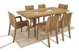 outdoor wood dining furniture. Cool Design Ideas Of Outdoor Teak Furniture With Oval Shape Wooden Cute Rectangle Brown Dining Table Wood