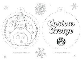 Curious George Free Printable Coloring Pages Curious Printable