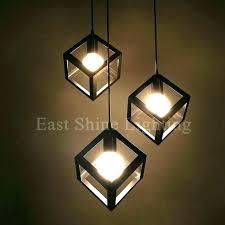 diy pendant lighting. Diy Hanging Lights Pendant Light Parts Modern Geometry Box For . Lighting B
