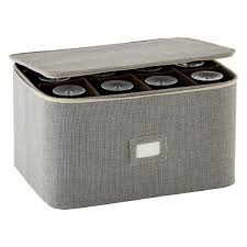 wine glass storage box. Brown Twill Stemware Storage Case Wine Glass Box E
