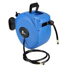 palm springs 65ft retractable air hose reel wall mounted