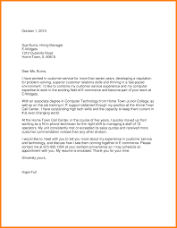 11 Customer Service Cover Letter Template Assembly Resume