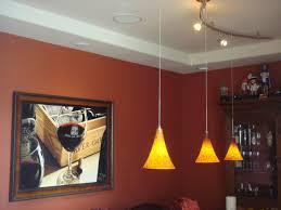 custom 2 circuit monorail lighting with pendant lights