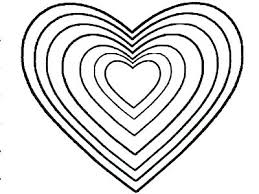Printable Human Heart Coloring Pages Free Hearts And Flowers Page Of