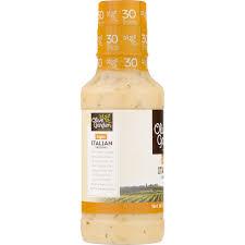 olive garden light italian dressing 16 fl oz plastic bottle com