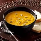 autumn harvest pumpkin soup