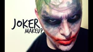 joker makeup from batman the dark knight you
