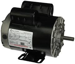 hp spl rpm u frame v air compressor motor 3 hp spl 3450 rpm u56 frame 115 230v air compressor motor century b383 electric fan motors com