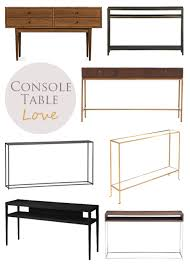 skinny console table. Guest Post Console Tables By Skinny Table E