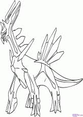 Small Picture Dialga Coloring Page Free Printable Coloring Pages Coloring Home