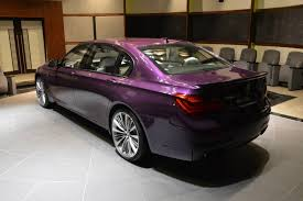 BMW Abu Dhabi Shows Off Twilight Purple 760Li Individual | Carscoops