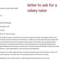 Salary Increase Proposal Sample Increment Letter Sample Business Letter Sample For Asking