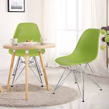 dining chairs black friday. adeco green charles \u0026 ray eame modern dining chairs with chrome legs (set of two black friday n