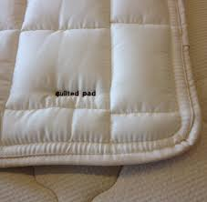 quilted mattress pad.  Quilted For Quilted Mattress Pad E