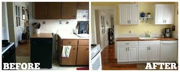 home depot cabinets before and after