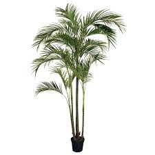 Silk Areca Tree Silk Areca Palm Tree. 8.5' High x973 Leaves. Shown 1 Full  Silk Areca Palm Tree. 1 Tree minimum each order. Comes pre. potted in a  nursery ...