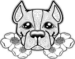 Small Picture pit bull coloring sheets coloring pages Pinterest Coloring books