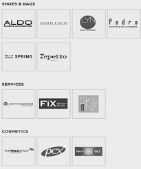 shoe brands available with a bench gift certificate such as aldo s charles and keith