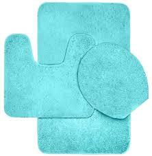 3 piece bathroom rug sets great hlc me piece bath rug set yellow