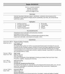 ... Strong Resume 11 Plant Manager Resume ...