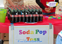 soda pop toss traditional carnival game jpg