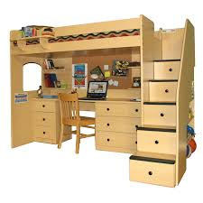 wood bunk bed with desk. Full Size Of Loft With Desk Bunk Beds For Boys Australia Get Bunky Toddler Storage Stairs Wood Bed O