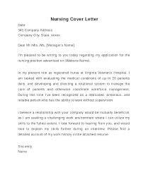 Sample Cover Letter For Rn Examples Of Cover Letters For Nursing Entry Level Registered Nurse