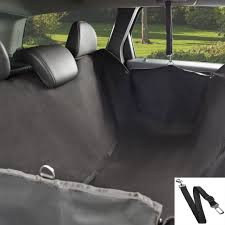 premium dog hammock car seat cover backseat waterproof safety belt cars suvs