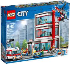 Đồ Chơi LEGO City 60204 - Bệnh Viện Thành Phố (LEGO 60204 City Hospital)