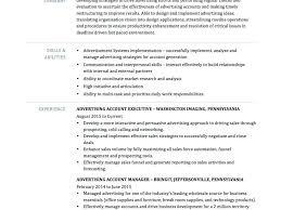 Advertising Executive Resume – Resume Pro