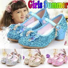 <b>Toddler</b> Kids Baby <b>Girls Princess Shoes</b> High Heels <b>Bowknot</b> Dress ...