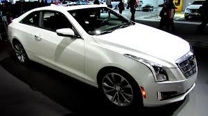 cadillac 2014 white. 2015 cadillac ats coupe exterior and interior walkaround debut at 2014 detroit auto show youtube white