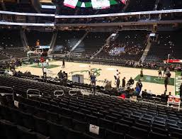 Bucks Seating Chart Fiserv Forum Section 116 Seat Views Seatgeek