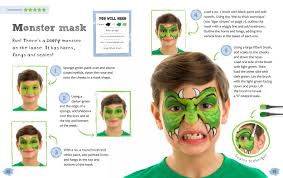 t rex face paint nice painting to try