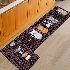 1 pcs aisebeau comfort flannel kitchen rug comfort kitchen floor mat non slip kitchen mat