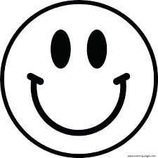 happy face coloring pages printable smiley page stylist vibrant design large for kids