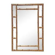gold bamboo mirror. Gold Tortoiseshell Bamboo Style Mirror Blue Painted Walls Stunning With Regard To 15