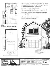 garage plans with office. Garage Plans: One Car, Two Story With Apartment, Outside Stair - Plan  910-1 Amazon.com Garage Plans With Office P