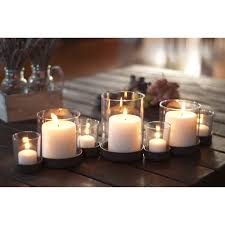 Rustic Iron and Glass Multiple Candle Holder - Free Shipping On Orders Over  $45 - Overstock.com - 15246188