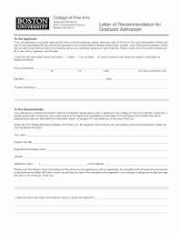 Berkeley Graduate Recommendation Letter 28 Printable College Recommendation Letter Forms And