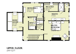 Floor Plan with Bunk Room