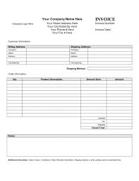 Invoice Templates For Macs Blank Invoice Templates For Mac Blank Invoice Templates Resume