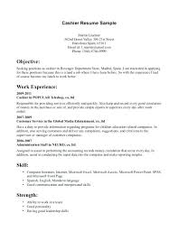 Cashier Job Description Walmart Cashier Job Description For Resume