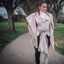 Didymos Baby Woven Wrap Metro Elements wool silk possum - Little Zen One