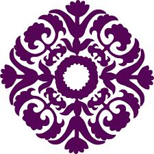 Eggplant Circle Design Clip Art at Clker vector clip art