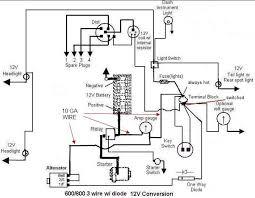 amp gauge wiring diagram wiring diagram schematics baudetails info amp gauge wiring question yesterday s tractors