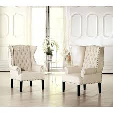 living room upholstered accent chairs with arms contemporary french chair arm linen wood accented back